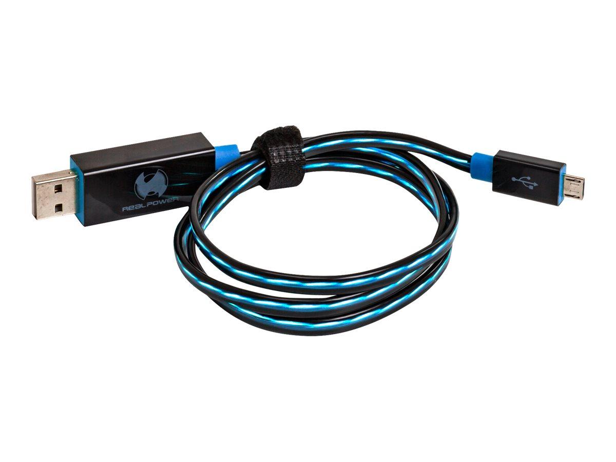 Ultron RealPower LED floating - USB-Kabel - USB (M)