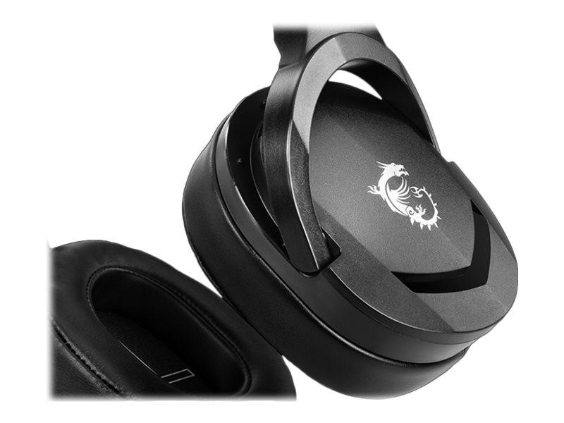MSI IMMERSE GH20 - Headset - kabelgebunden - 3,5 mm Klinke