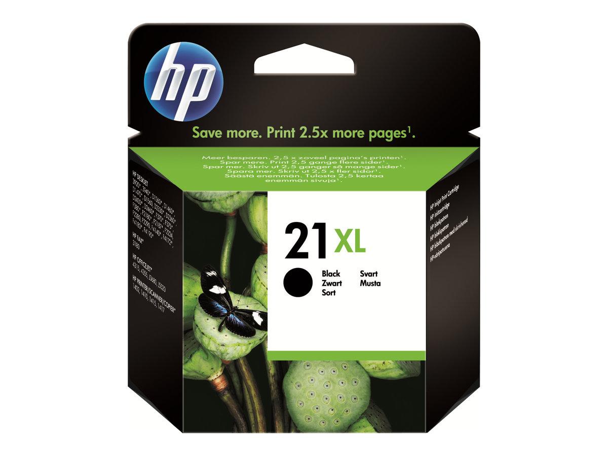 Vorschau: HP 21XL - 16 ml - Hohe Ergiebigkeit - Schwarz