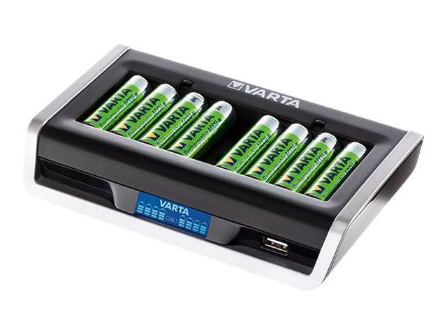 Varta LCD Multi Charger - Batterieladegerät - (für 8xAA/AAA)