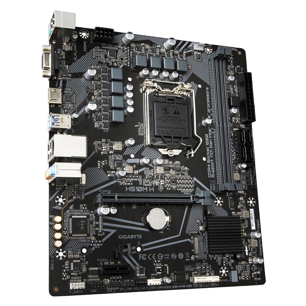 Gigabyte H510M H - LGA1200