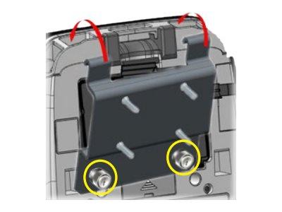 Zebra Montagekomponente (Befestigungsplatte) für Drucker