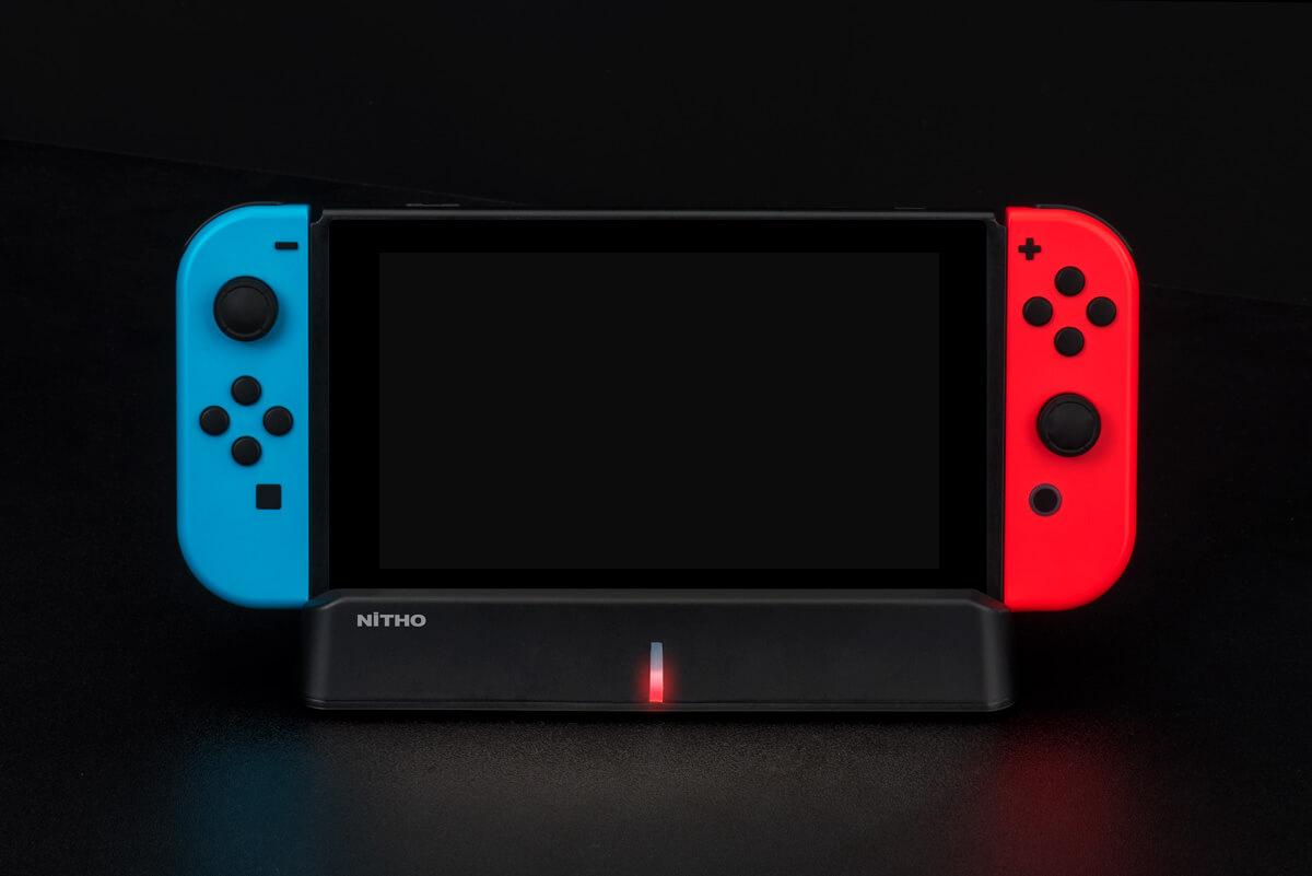 Nitho NSW-CDP4-K - Andockstation - Nintendo Switch - Schwarz - Lithium-Ion (Li-Ion) - 4000 mAh