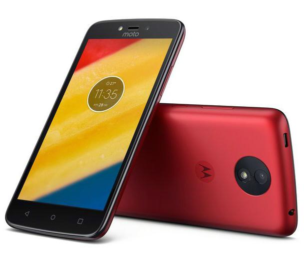 Motorola Solutions Moto C plus 16 GB Dual-SIM whole gold - Smartphone - 16 GB