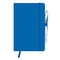Herlitz 11368990 - Blau - A5 - 96 Blätter - 80 g/m² - Liniertes Papier - Universal