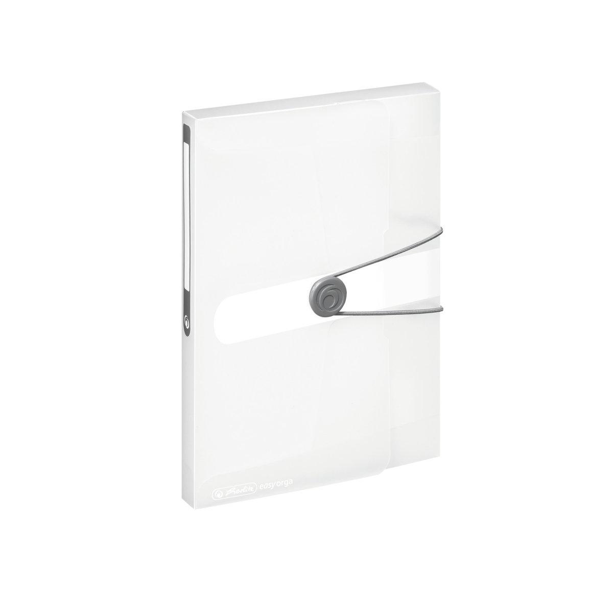 Herlitz 11206182 - Konventioneller Dateiordner - A5 - Polypropylen (PP) - Transparent - Matt - 25 cm