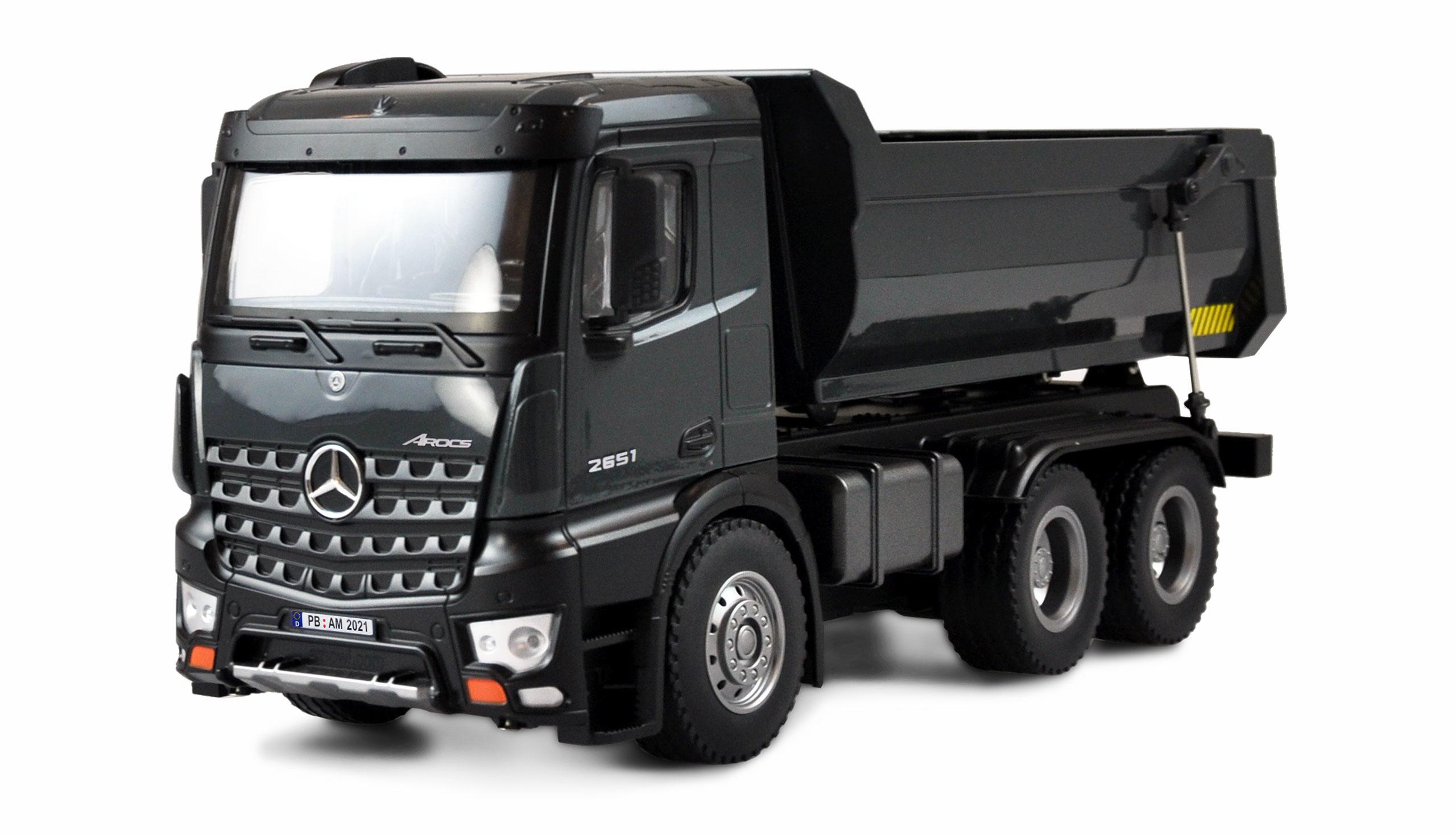 Amewi Mercedes Arocs Kipper Pro - Traktor-LKW - Junge - 2000 mAh - 3,21 kg