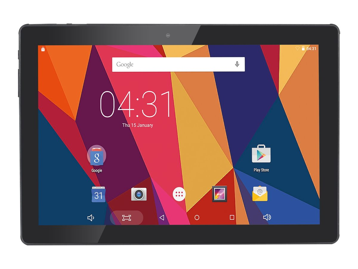 """Hanns.G HANNSpad SN1ATP3B Tablet 10.1"""" IPS DC-Jack And Android - 16 GB - 25,7 cm"""
