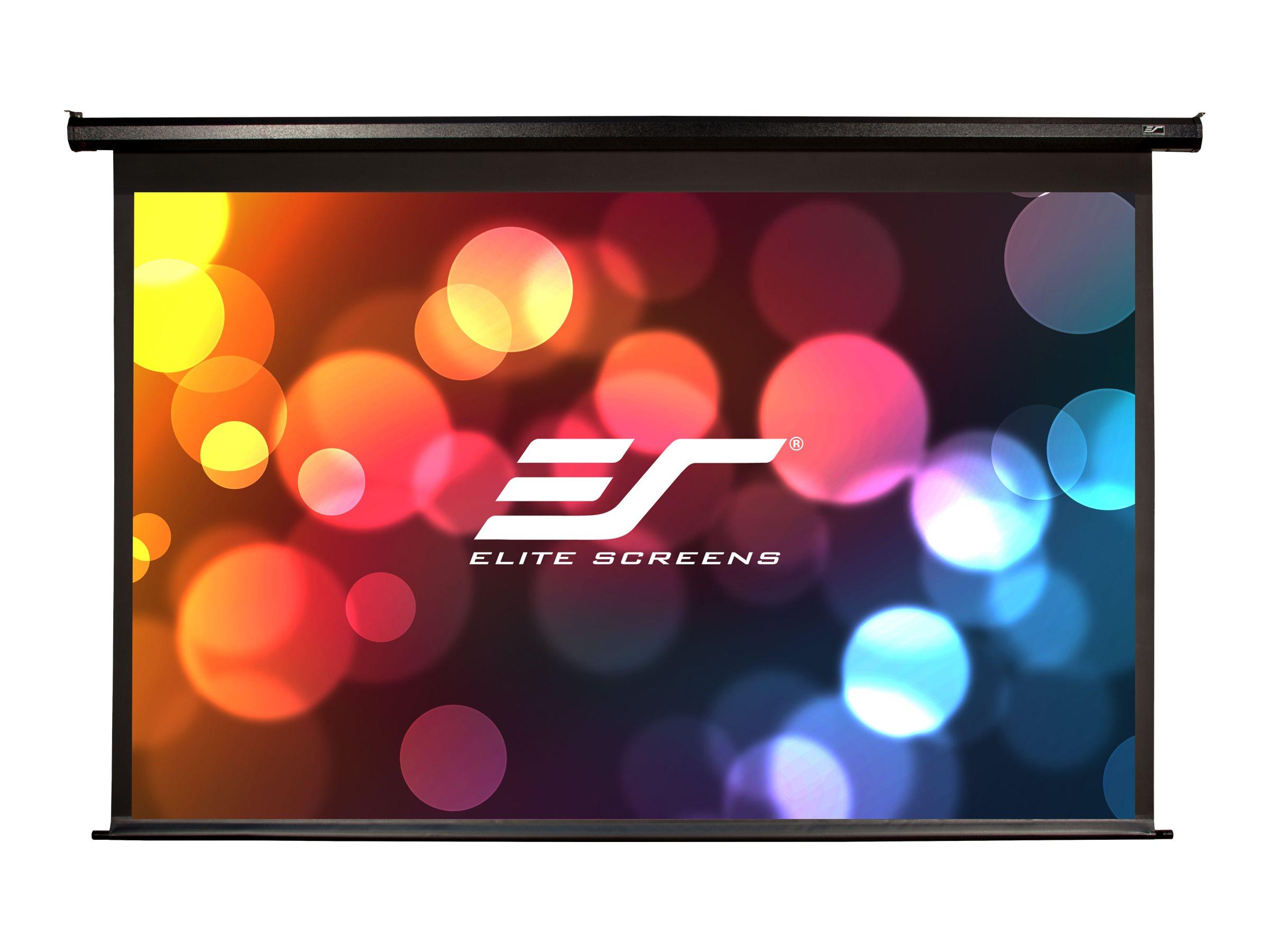 """Elite Screens Elite Spectrum Series Electric125H - Leinwand - Deckenmontage möglich, geeignet für Wandmontage - motorisiert - 318 cm (125"""")"""