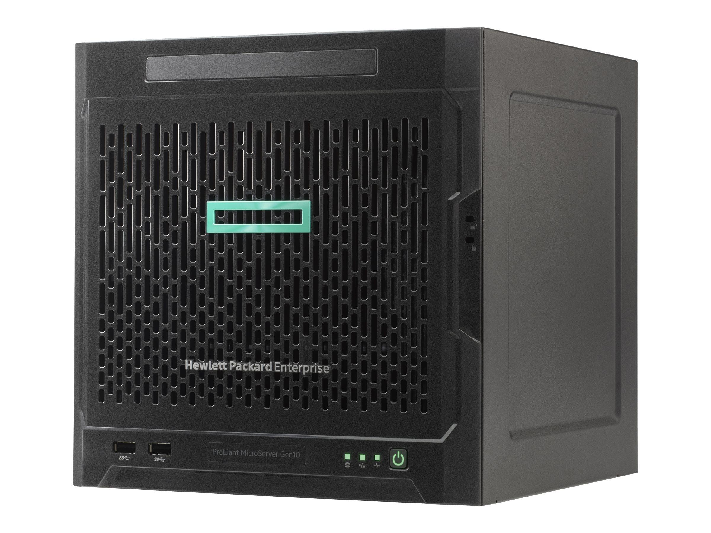 HP Enterprise ProLiant MicroServer Gen10 Entry - Server