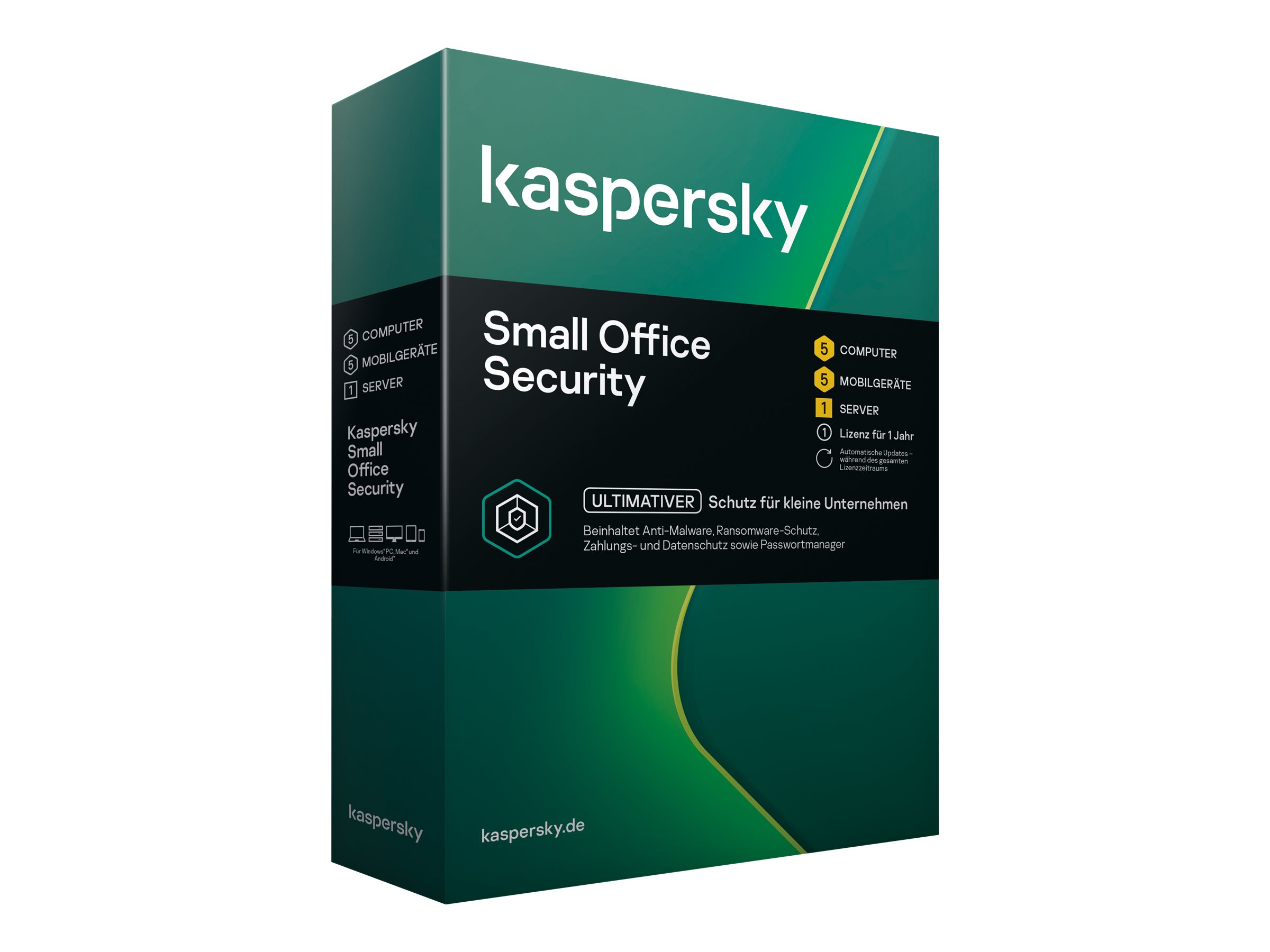 Kaspersky Small Office Security - (v. 7) - Box-Pack (1 Jahr)