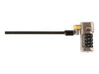 ClickSafe Schwarz Kabelschloss
