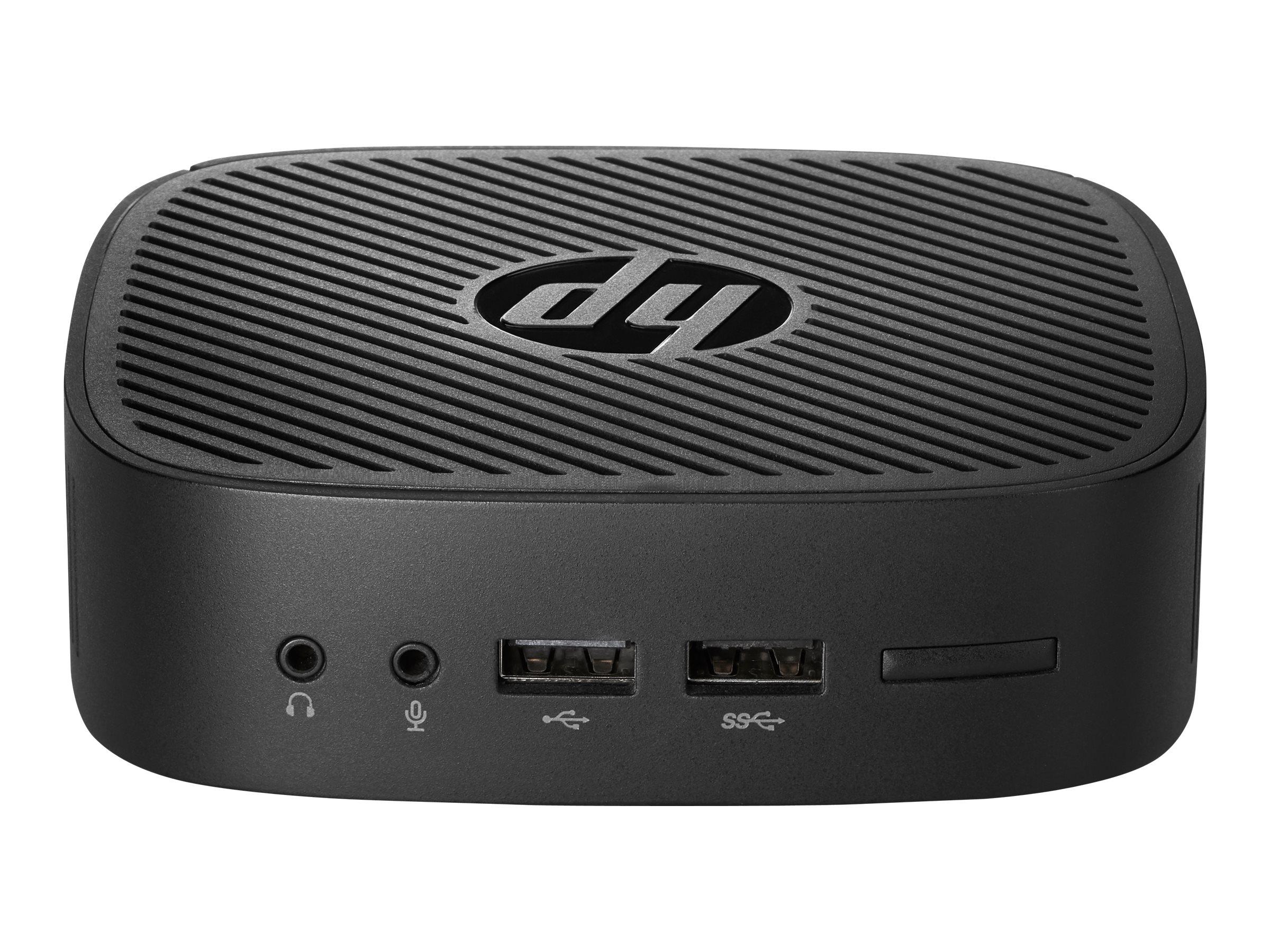 HP t240 - Thin Client - USFF - 1 x Atom x5 Z8350 / 1.44 GHz