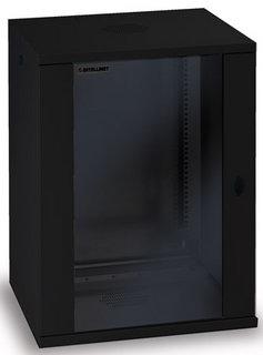 Intellinet 711951 - 15U - Wandmontiertes Regal - 60 kg - Schwarz - SPCC - Geschlossen