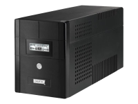 Line-Interactive 2000VA Line-Interaktiv 2000VA 4AC-Ausgänge Kompakt Schwarz Unterbrechungsfreie Stromversorgung (UPS)
