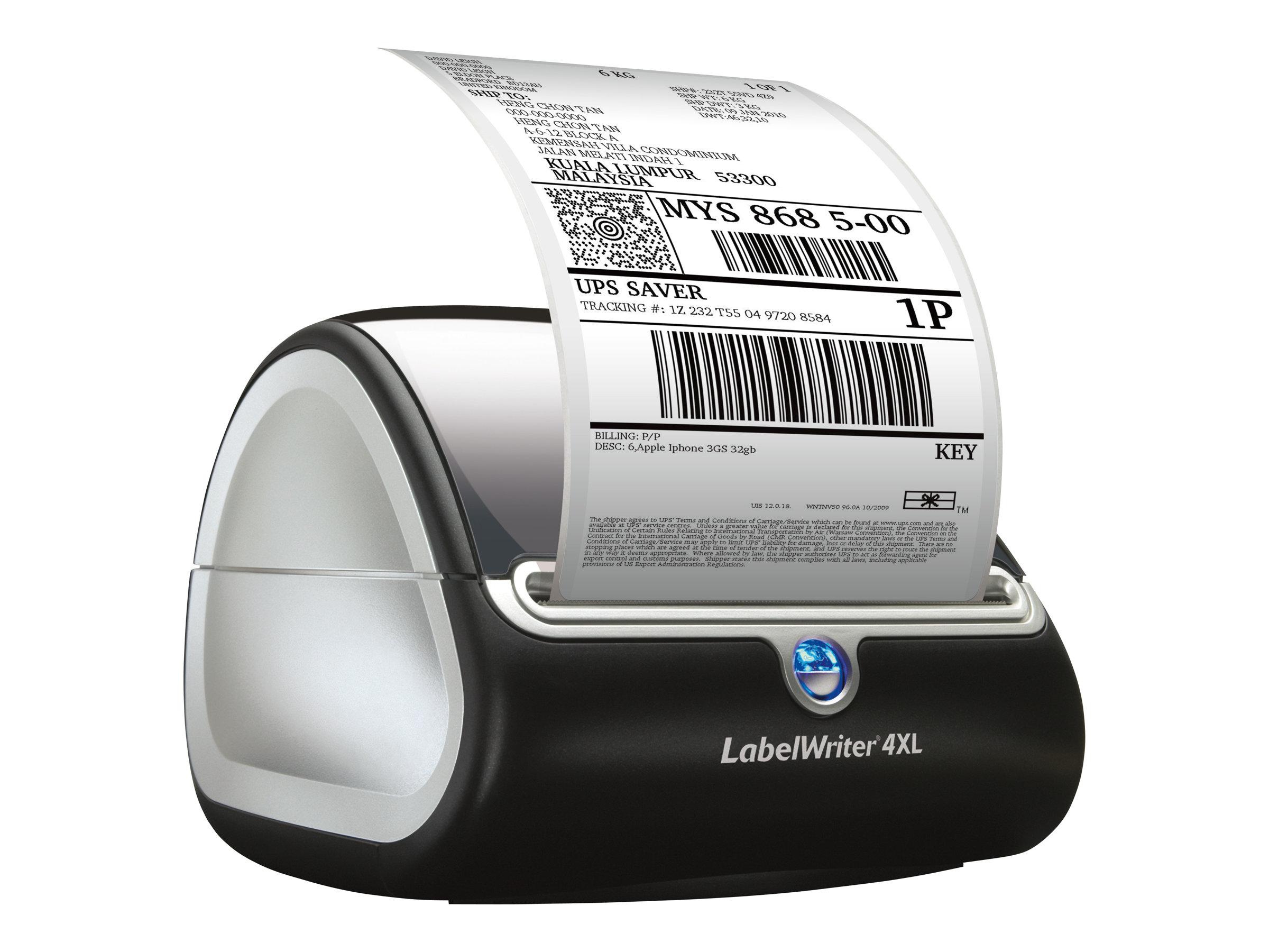Dymo LabelWriter 4XL - Etikettendrucker - Thermodirekt - Rolle (10,8 cm)