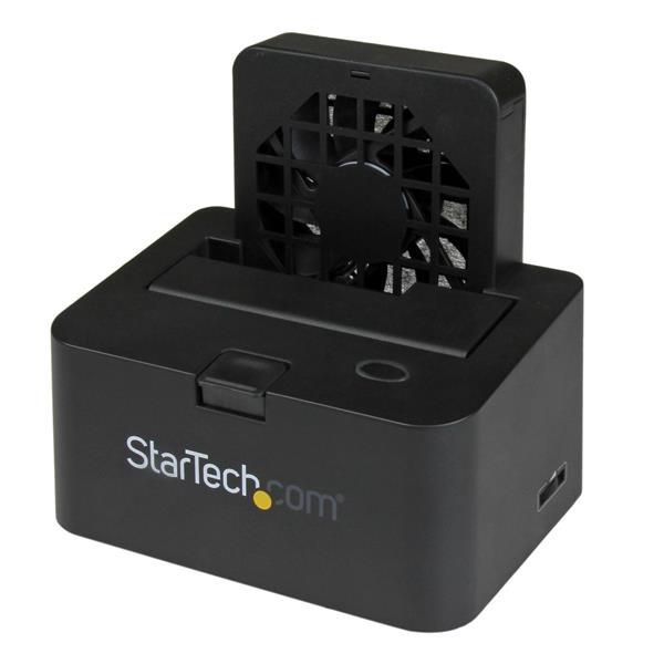 StarTech.com USB 3.0/ eSATA Dockingstation für SATA Festplatten - 2,5/3,5 HDD / SSD Dock mit UASP