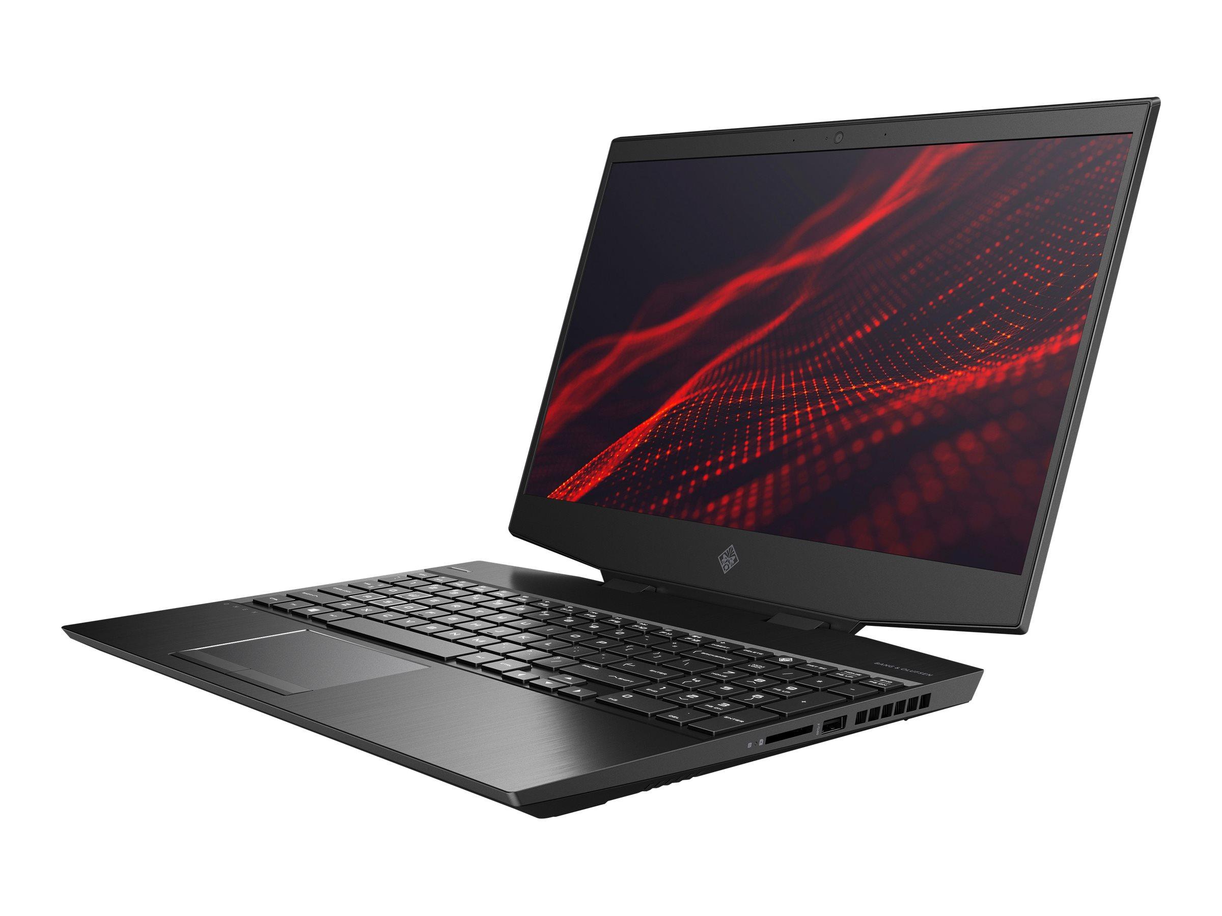 HP OMEN by HP 15-dh1085ng - Core i7 10750H / 2.6 GHz - Win 10 Home 64-Bit - 16 GB RAM - 512 GB SSD NVMe + 1 TB HDD - 39.6 cm (15
