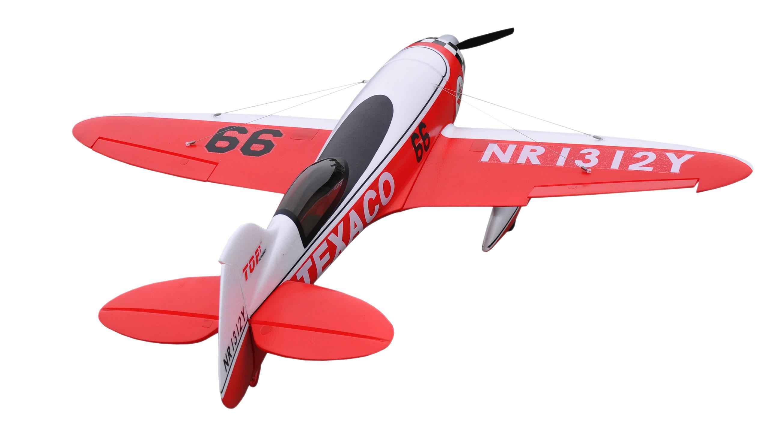 Amewi GeeBee PNP 4 Kanal SW - Funkgesteuertes Flugzeug für Kunstflug im Innenbereich - Elektromotor - Junge