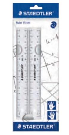 STAEDTLER 562 152 PB - Kunststoff - Transparent - 15 cm - 2 Stück(e)