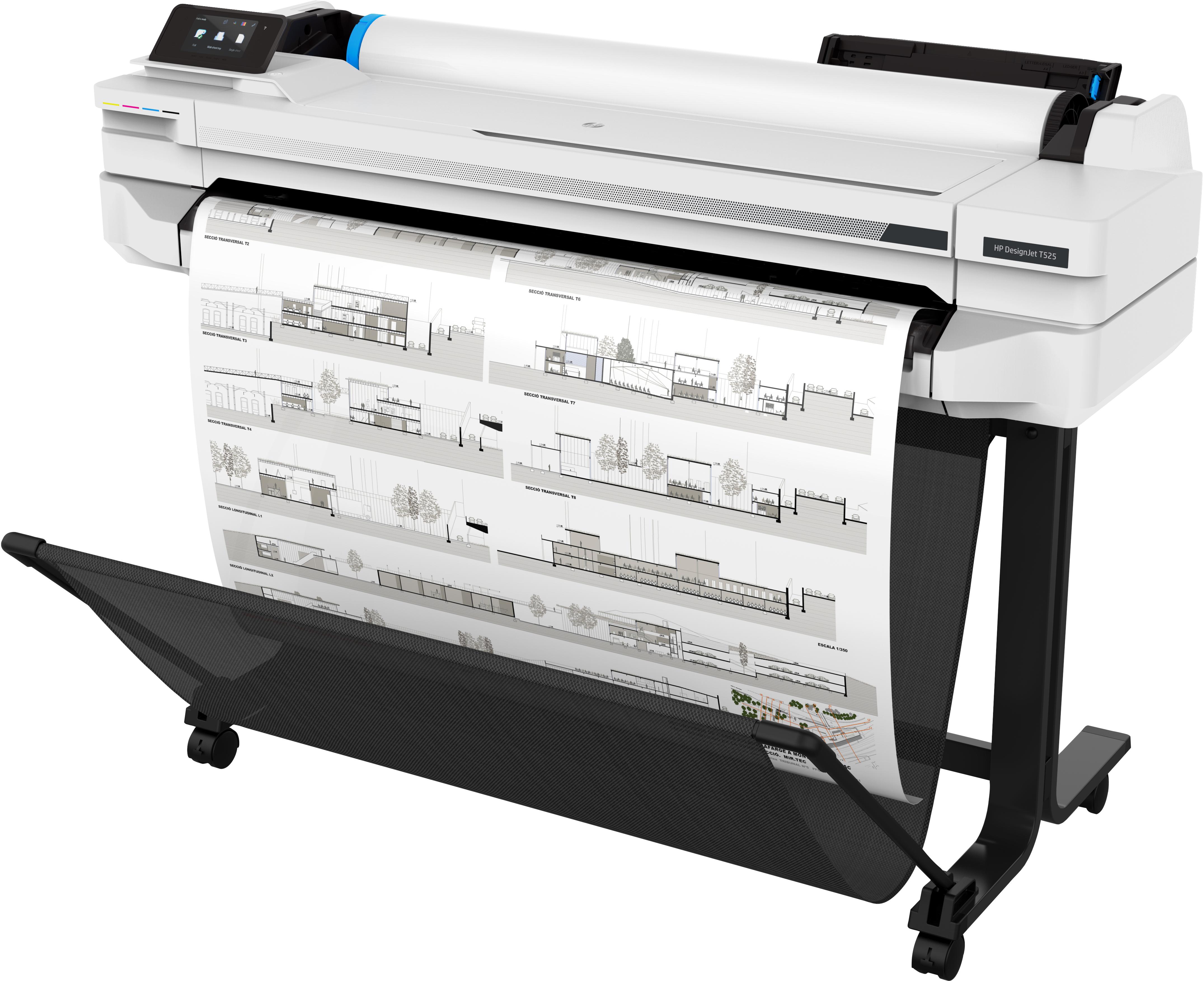 HP Großformatdrucker DesignJet T525 - 36 - Großformatdrucker - Tintenstrahldruck