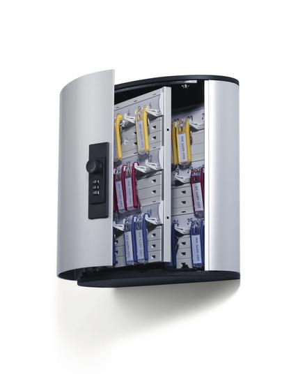 Durable Key Box 36 Code - Aluminium - Silber - Zahlenschloss - 302 x 118 x 208 mm