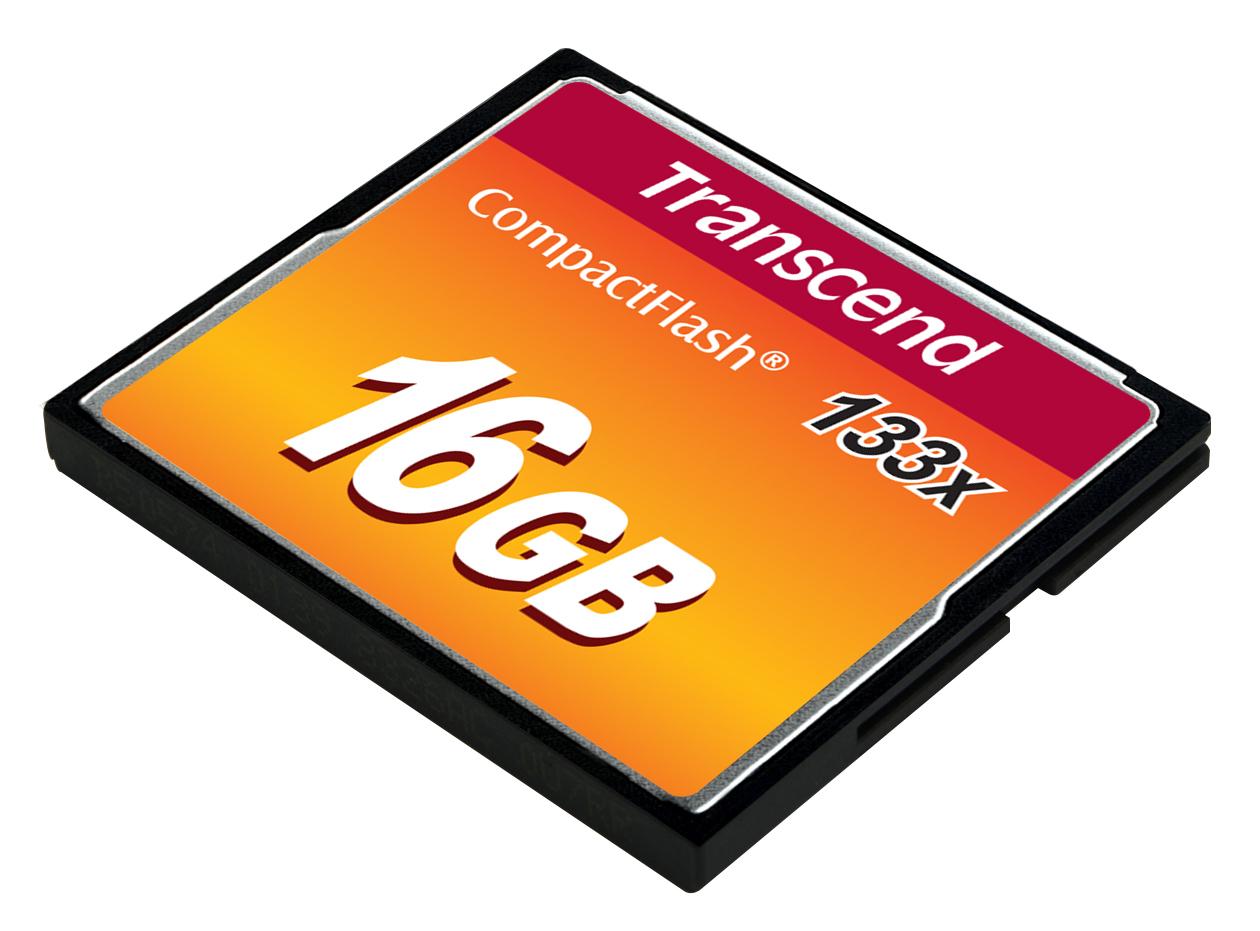 Transcend-Flash-memory-card-16-GB-133x-CompactFlash-TS16GCF133 miniatura 2