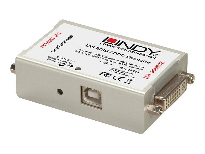 Lindy EDID/DDC Emulator for DVI-I Displays - EDID-Leser/Schreiber