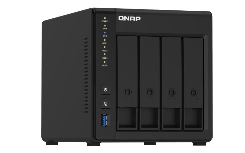 QNAP TS-451D2 - NAS-Server - 4 Schächte - 8 TB