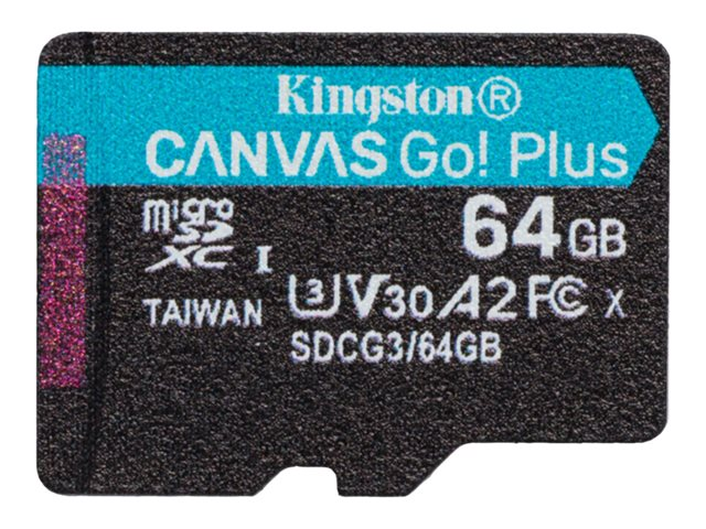 Kingston Canvas Go! Plus - Flash-Speicherkarte