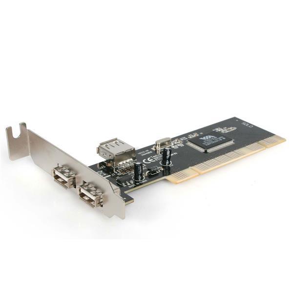 StarTech.com 3 Port USB 2.0 Low Profile PCI Schnittstellenkarte