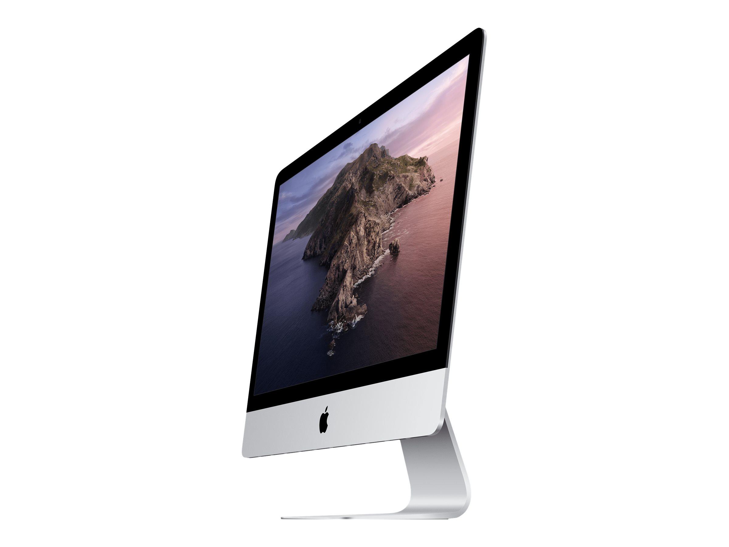 "Vorschau: Apple iMac - All-in-One (Komplettlösung) - Core i5 2.3 GHz - RAM 8 GB - SSD 256 GB - Iris Plus Graphics 640 - GigE - WLAN: 802.11a/b/g/n/ac, Bluetooth 4.2 - macOS Big Sur 11.0 - Monitor: LED 54.6 cm (21.5"")"