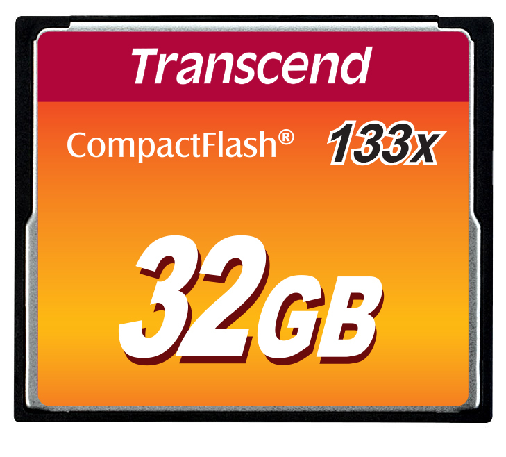 Transcend-Flash-memory-card-32-GB-133x-CompactFlash-TS32GCF133 miniatura 4