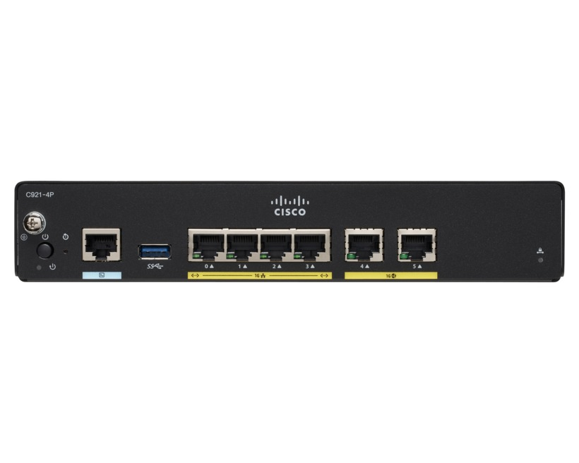Cisco Integrated Services Router 927 - Router