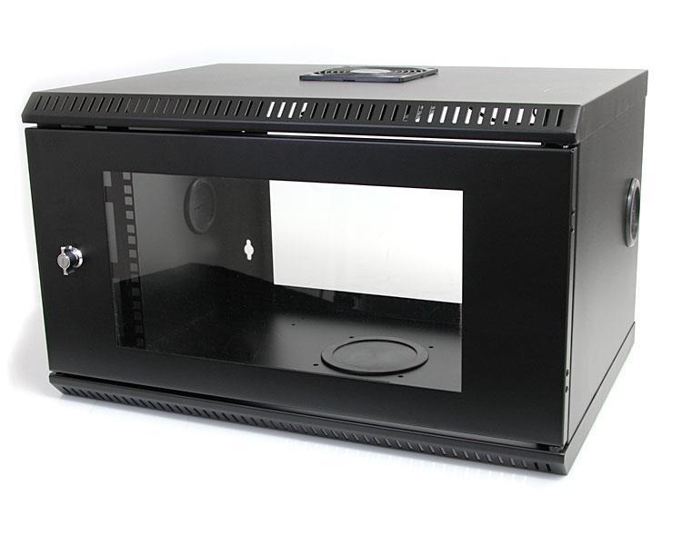 StarTech.com 6 HE 19 Serverschrank mit Acryltür - Wandmontagefähiges Server Rack