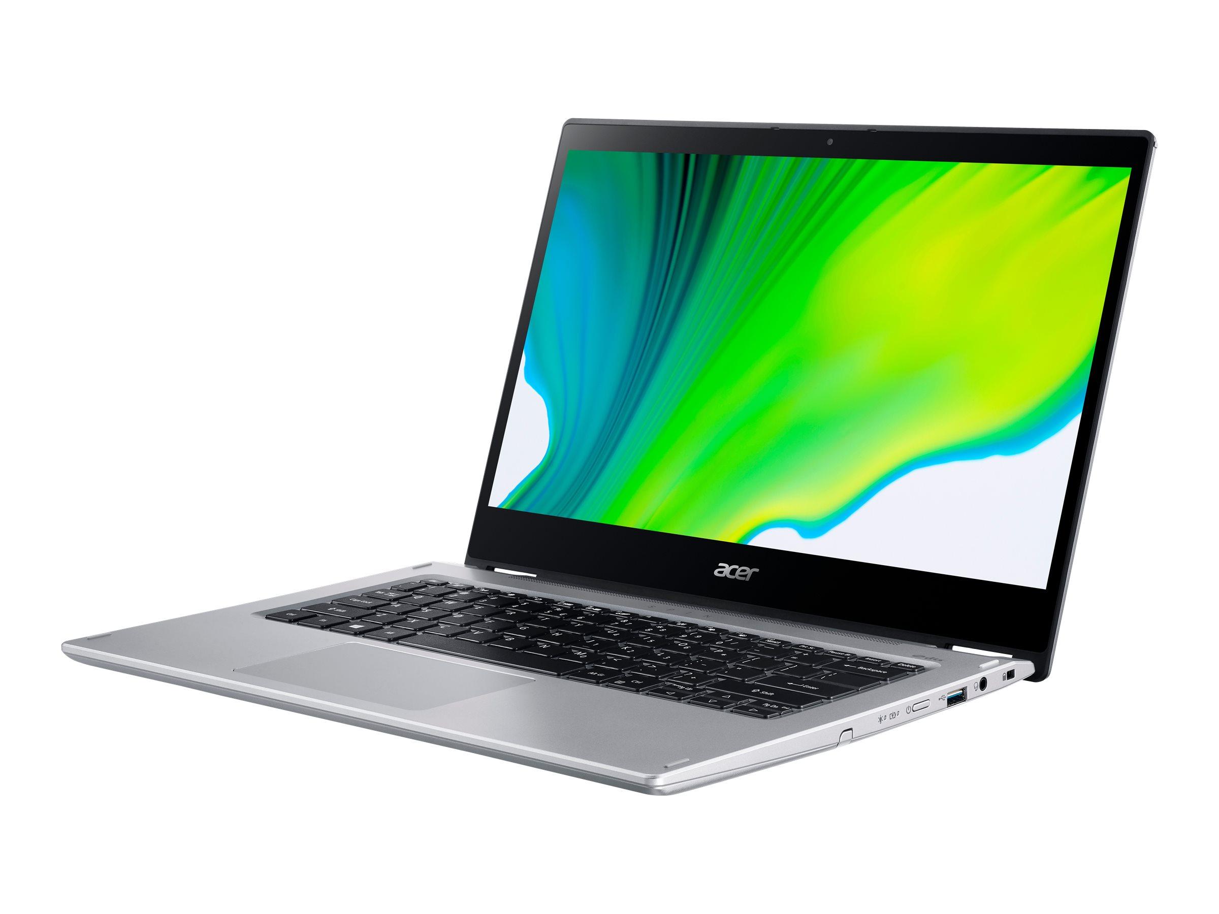 "Vorschau: Acer Spin 3 SP314-54N-57C3 - Flip-Design - Core i5 1035G4 / 1.1 GHz - Win 10 Pro 64-Bit - 8 GB RAM - 256 GB SSD - 35.56 cm (14"")"