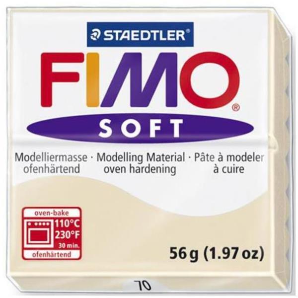 Vorschau: STAEDTLER FIMO soft - Knetmasse - Beige - 110 °C - 30 min - 56 g - 55 mm