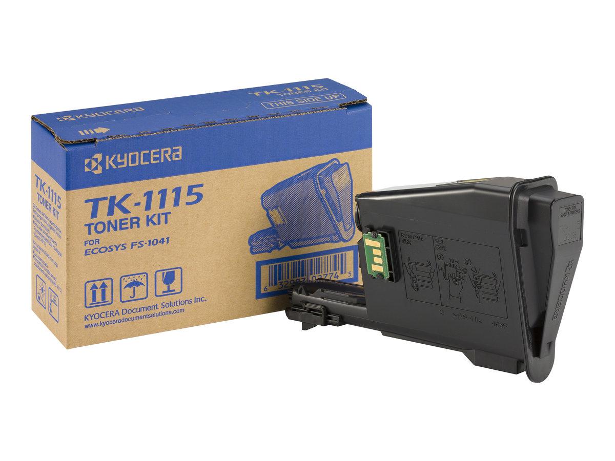 Kyocera TK 1115 - Schwarz - Original - Tonerpatrone