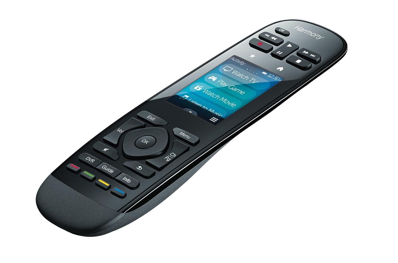 Logitech Harmony Ultimate One IR Wireless Touchscreen/Drucktasten Schwarz Fernbedienung
