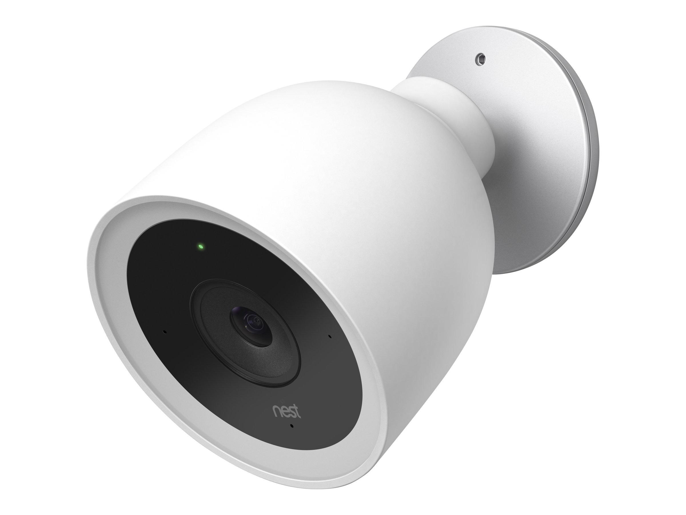 Nest Labs Nest Cam IQ outdoor - Netzwerk-Überwachungskamera - Außenbereich - wetterfest - Farbe (Tag&Nacht)