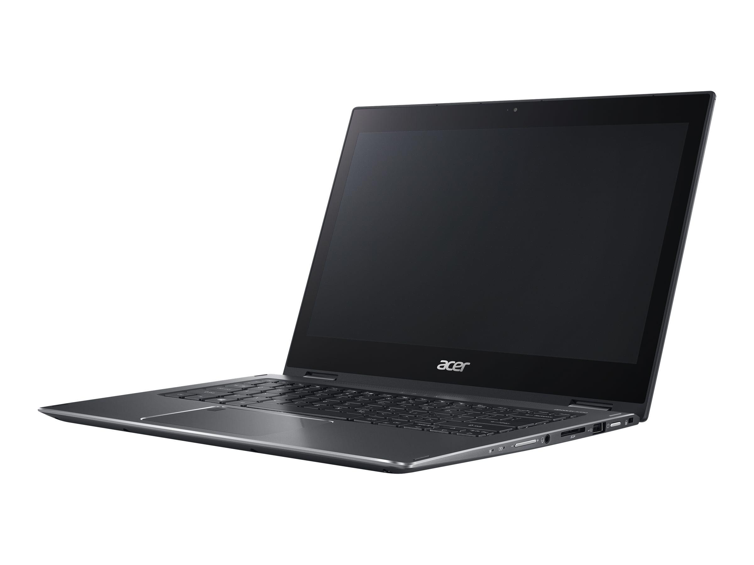 Acer Spin SP513-52 1.6GHz i5-8250U 13.3Zoll 1920 x 1080Pixel Touchscreen Schwarz Hybrid (2-in-1)