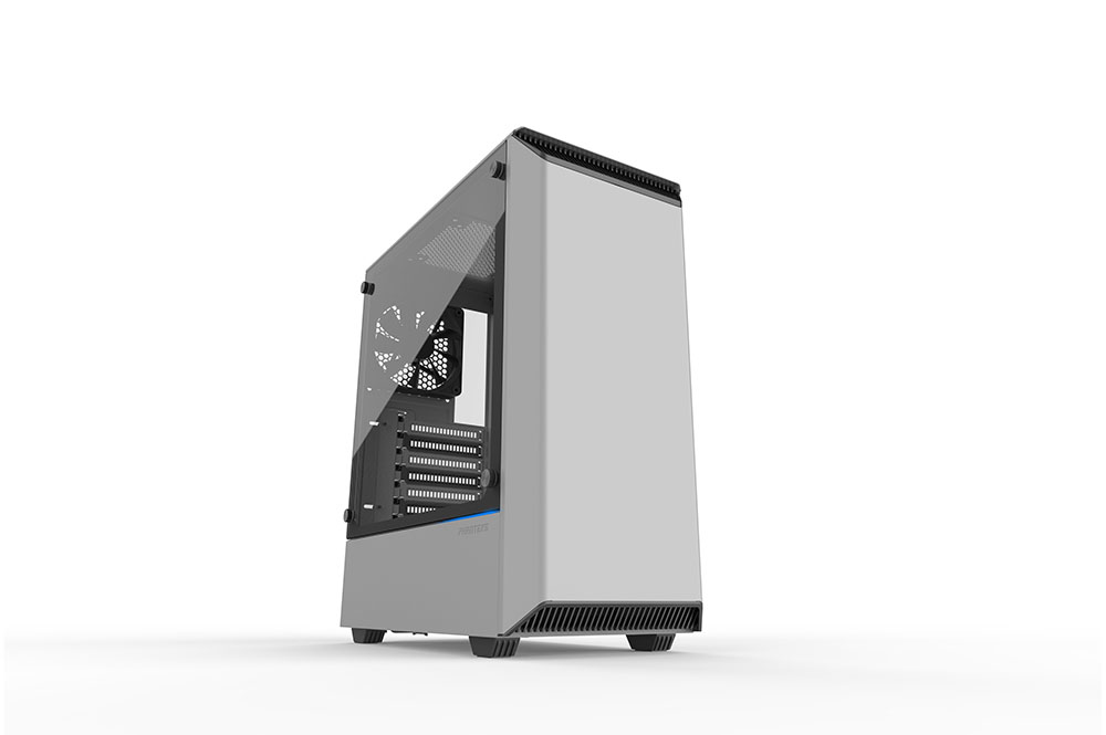 Phanteks Eclipse P300 Midi Tower PC Acrylonitrile butadiene styrene (ABS),Steel White ATX,EATX,Micro ATX,MiniATX Gaming
