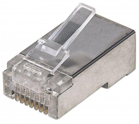 Intellinet Modular Plug - Netzwerkanschluss - RJ-45 (M)
