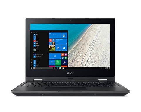 Acer TravelMate Spin B1 TMB118-G2-RN-P7ED - Flip-Design - Pentium Silver N5000 / 1.1 GHz - Win 10 Pro 64-bit National Ac
