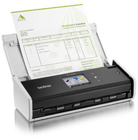 Brother ADS-1600W ADF scanner 600 x 600DPI A4 Schwarz - Weiß Scanner