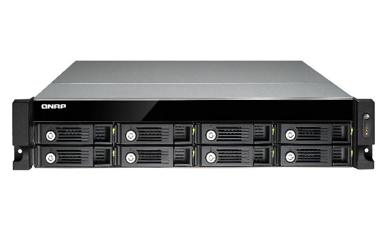 QNAP TS-853U NAS Rack (2U) Eingebauter Ethernet-Anschluss Schwarz NAS & Speicherserver