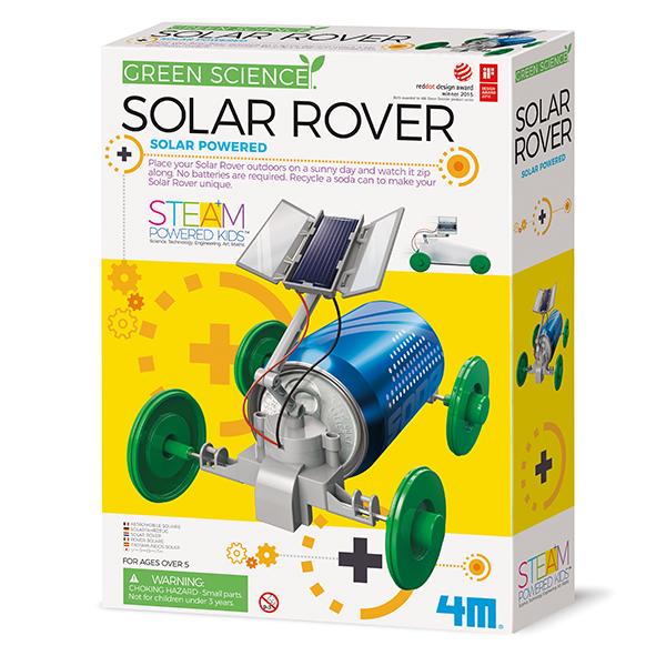 4m Green Science Solar Rover - Fahrzeug-Set - Junge