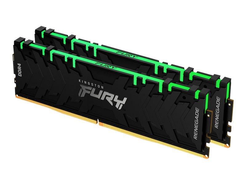 Kingston FURY Renegade RGB - DDR4 - Kit - 16 GB: 2 x 8 GB