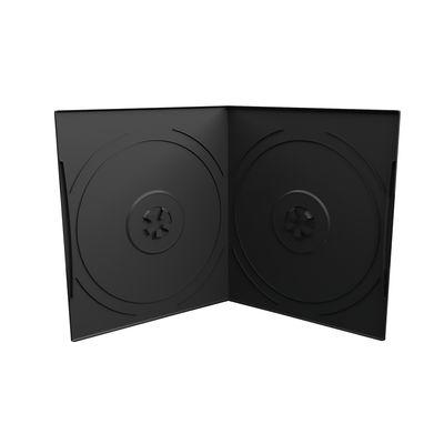 MEDIARANGE BOX10-2 - DVD-Hülle - 2 Disks - Schwarz - Kunststoff - 120 mm - 125 mm