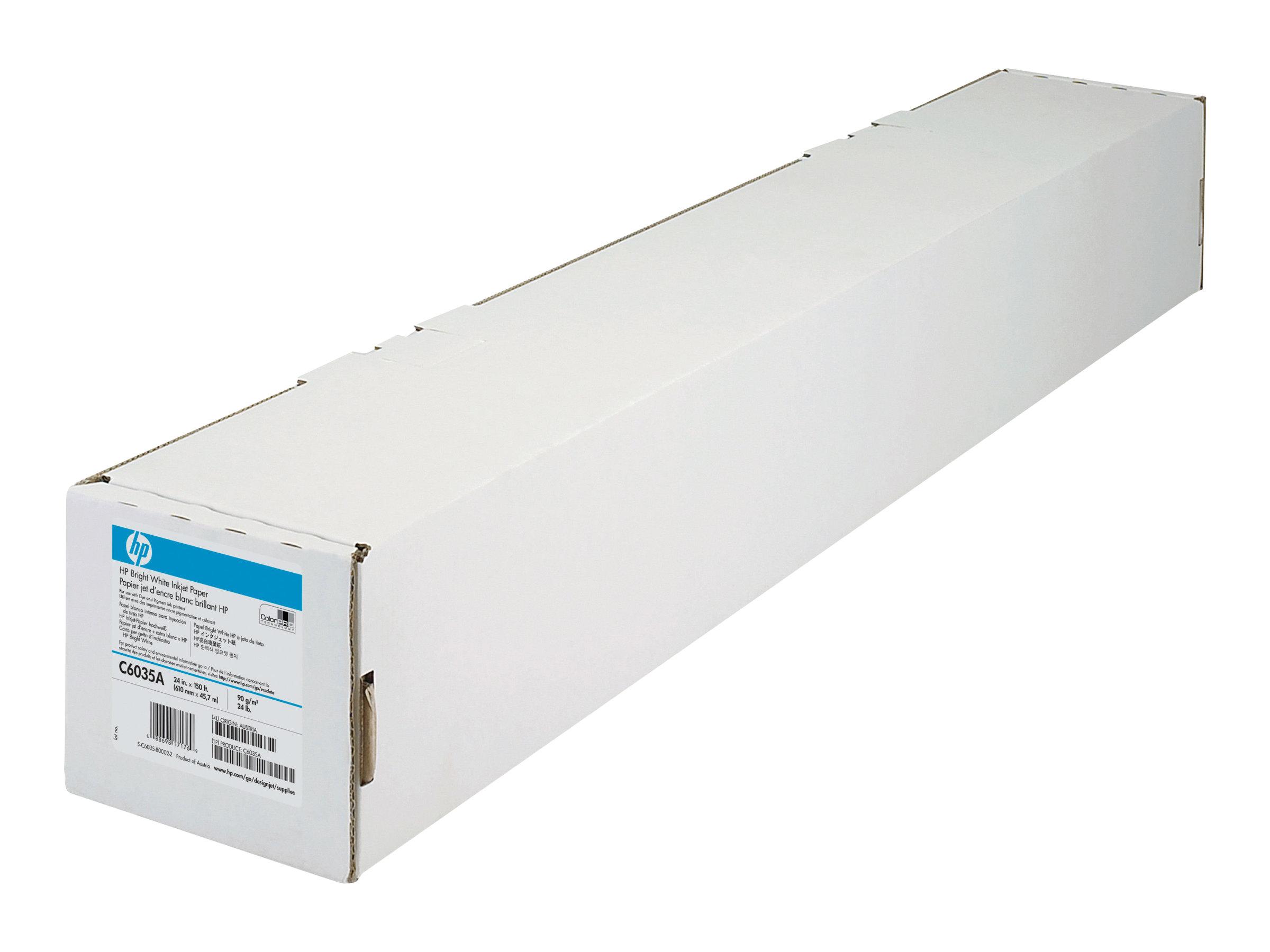 HP Beschichtet - hochweiß - Rolle A1 (59,4 cm x 45,7 m)